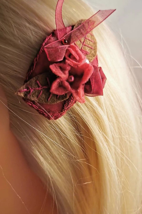 Wearables hairclips, neckwarmer and headbands