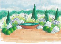 Contemplative garden