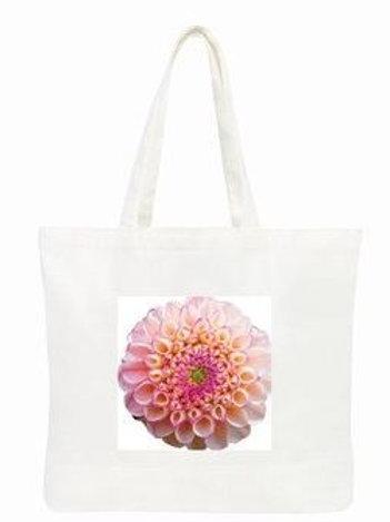 Zippity White tote bag  (38 x 47 x 12cm)