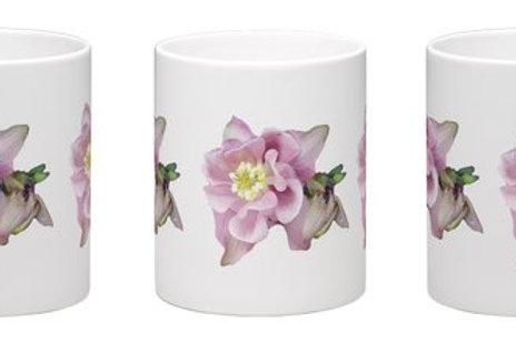 Aquilegia mug White