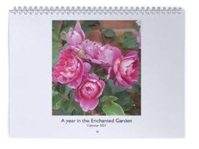 Enchanted Gardens Wall Calendar 2021