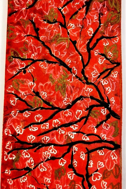 Red chinoiserie