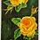 Thumbnail: Yellow roses on green-black