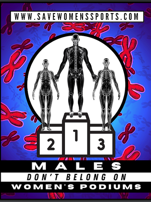Males Don't Belong on Women's Podiums - PNG file