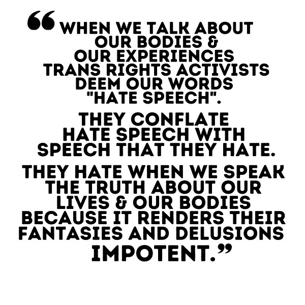 Our Truth Makes Their Fantasies Impotent