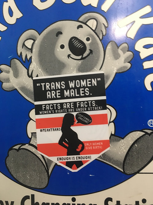 Trans Women Are Males / Only Women Give Birth