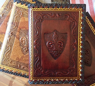 Florentine Leather Journal