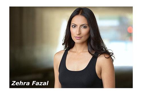 Autographed Postcard: Zehra Fazal