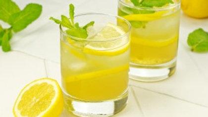 Green Tea with Fresh Lemonade