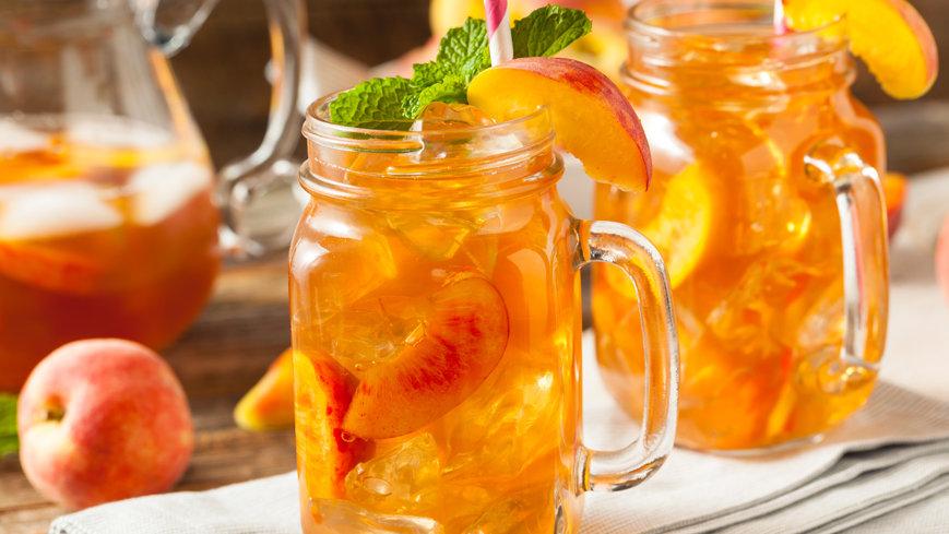 Fresh Peach Tea