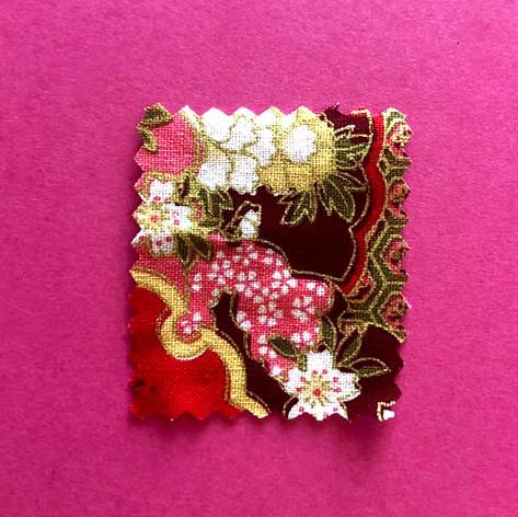 Tissu fleur