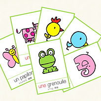 Learn the names of the most common animals in French! FLE FFL. Created by French-smile.