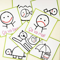 Flashcards for learning French FLE FFL. Created by French-smile.