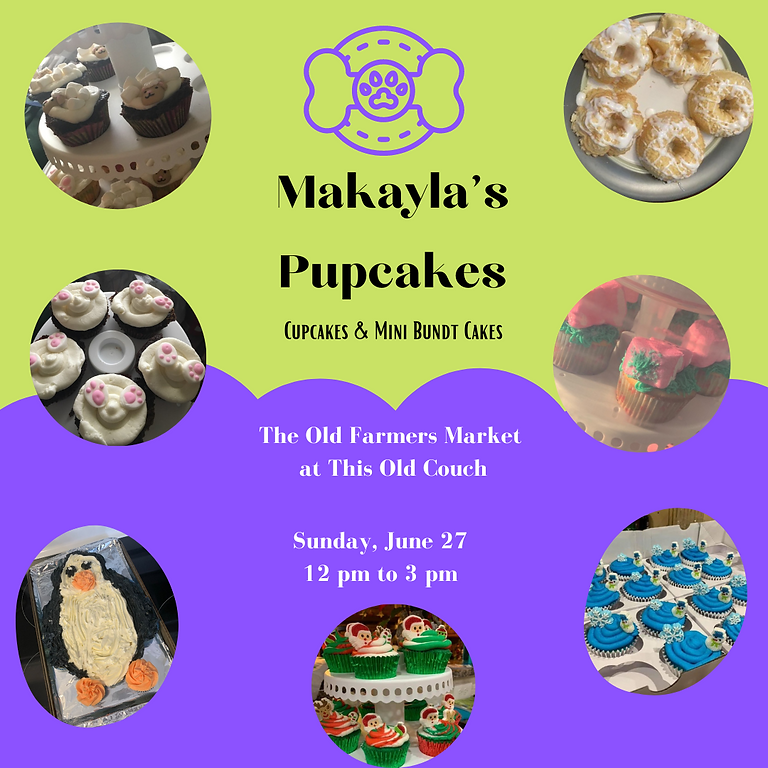 Makayla's Pupcakes at The Old Farmer's Market (1)