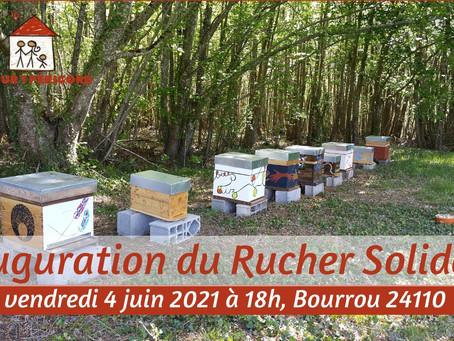 Inauguration du Rucher Solidaire de Bourrou !