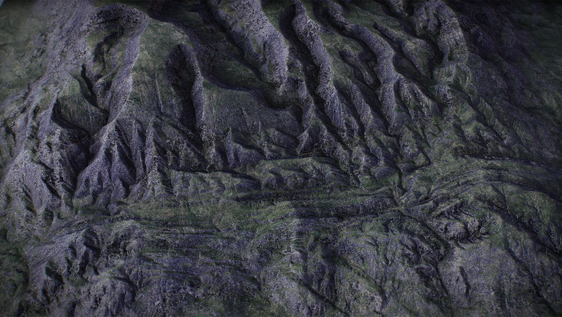 UE4 Level Design, Grasslands Mountains Pack