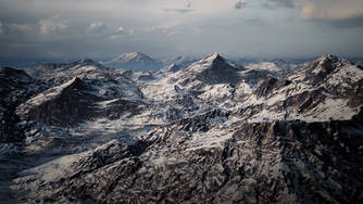 UE4 Level Design Snow Mountains Pack