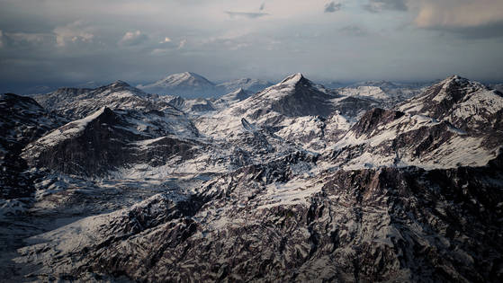UE4 Level Design Snow Mountains Pack