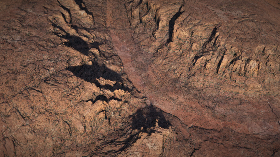 Canyons Pack, Erosion, UE4 Level Design