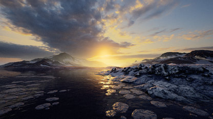 UE4 Level Design, Arctic Pack