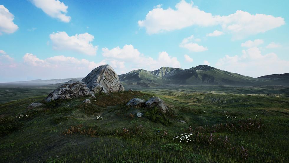 UE4 Level Design, Grasslands Mountains Pack, Get started with UE4