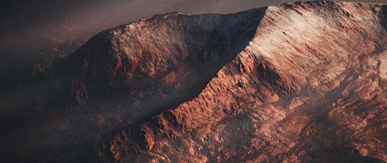 UE4 Level Design, Desert Mountains Pack