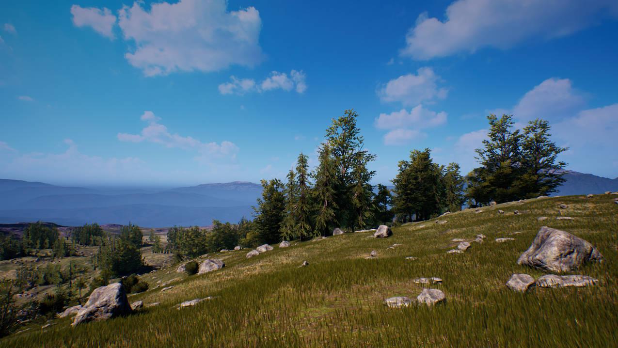 UE4 Level Design Forest Pack