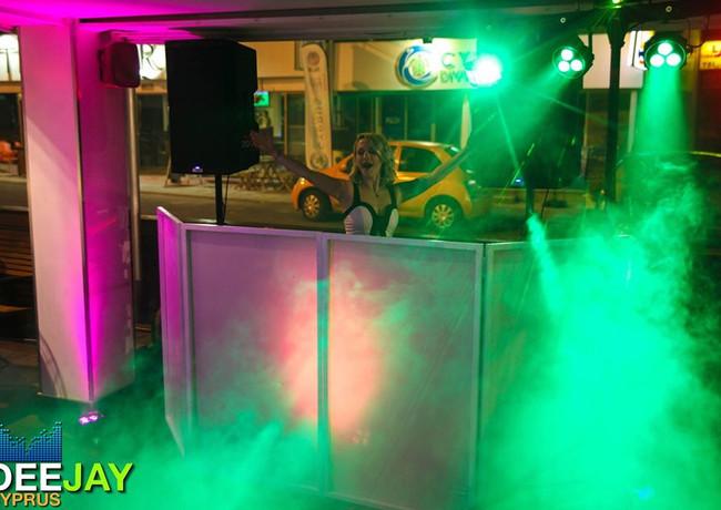Gorilla Street Party DJ Setup