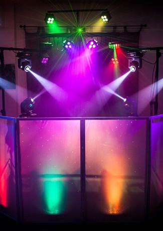 Gorilla Street DJ & Lighting Setup