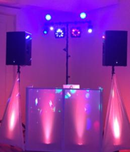 Gorilla Street Party DJ & Lighting Setup