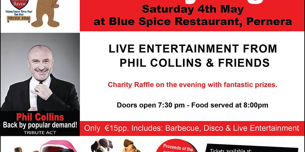 Charity Night - Blue Spice