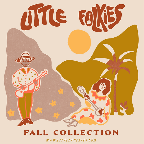 Little Folkies Fall Collection CD