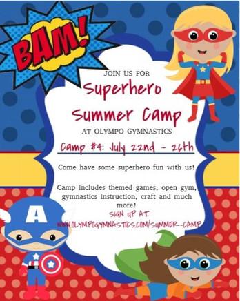 Superhero Camp
