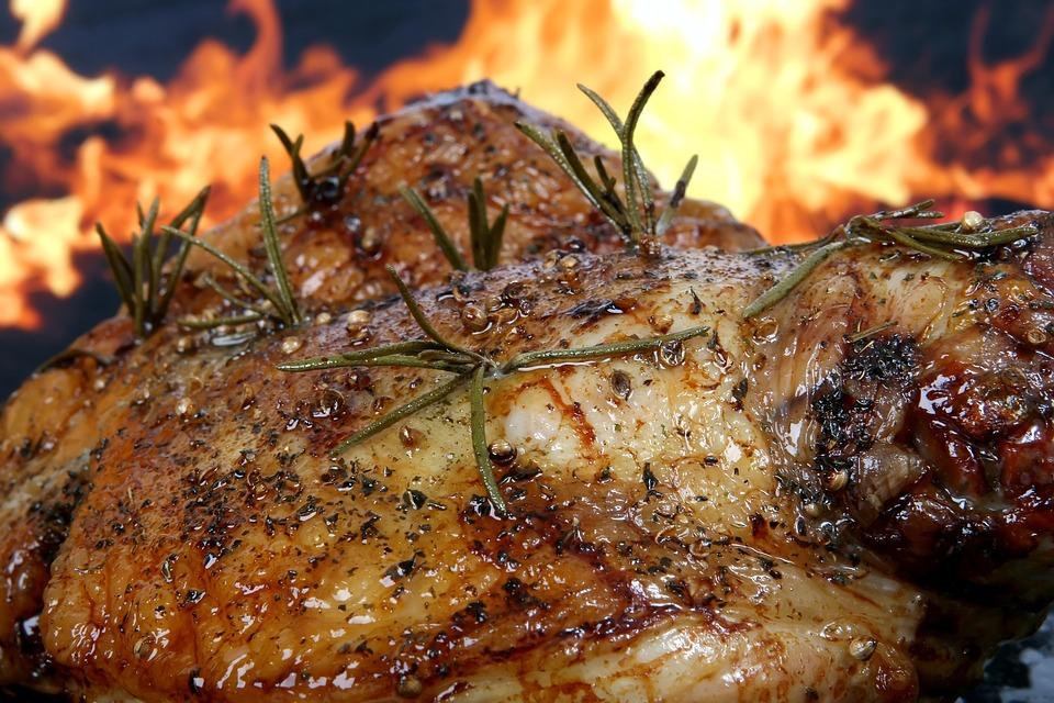 Carne  jugosa y en su punto