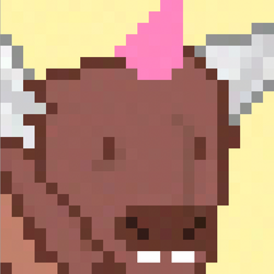 PegaBufficorn Pink Mohawk