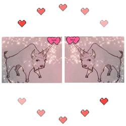 Cute Bufficorn Love