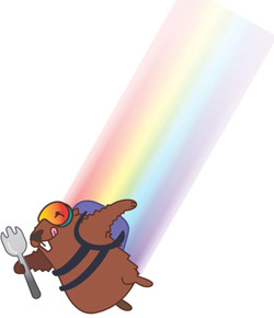 Skydiving Spork Marmot