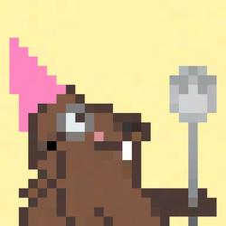 Spork Marmot Pink Mohawk