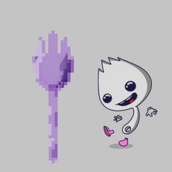 Purple Spork