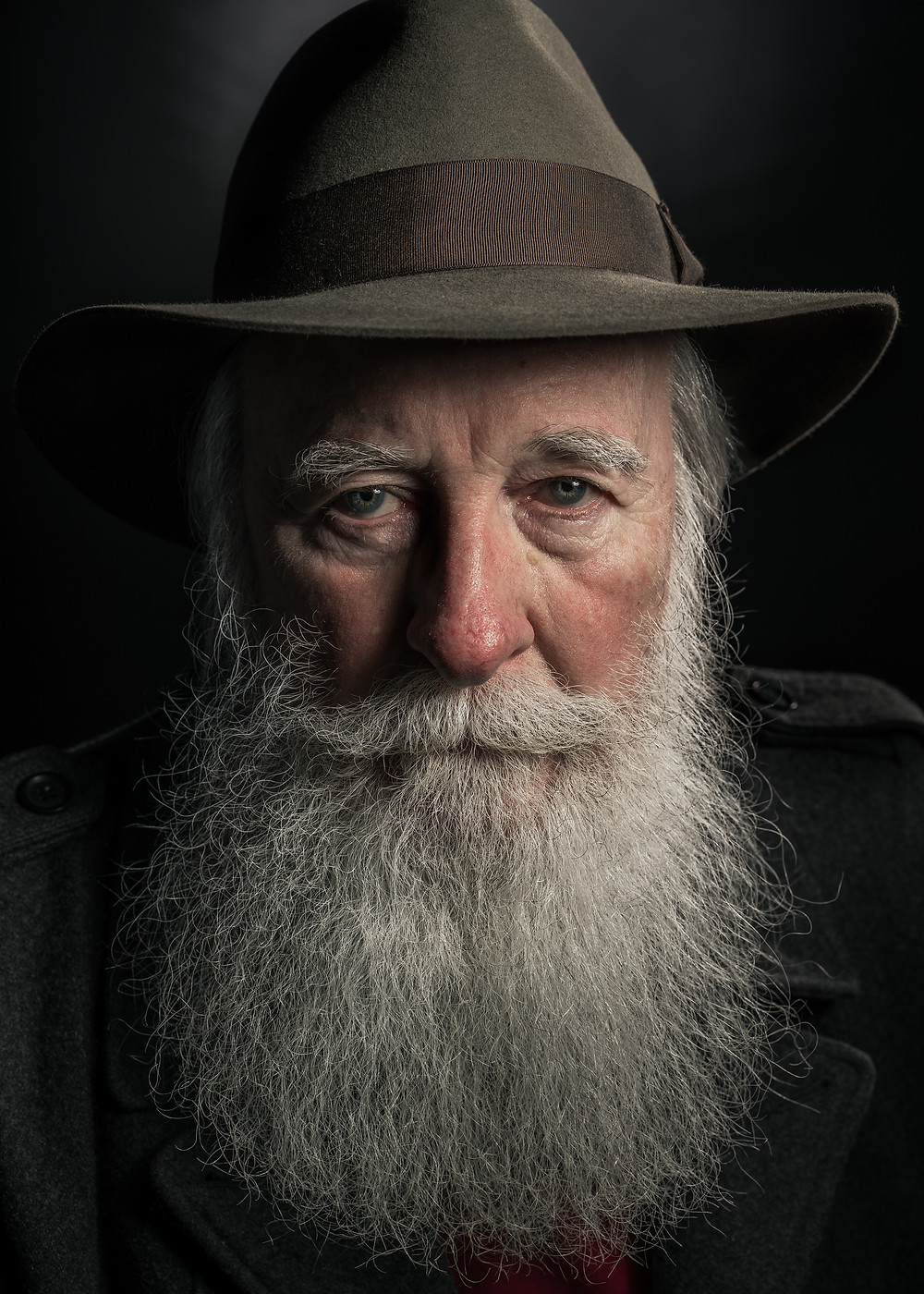 A portrait of Sydney based actor Keith Thomas