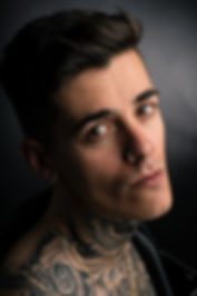 Rapper Matthew Kauffman Portrait