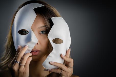 Em Masked Portrait