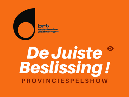 De Juiste Beslissing. Het Middagjournaal van 16 september 2020 (Nieuwe Feiten, Radio 1).