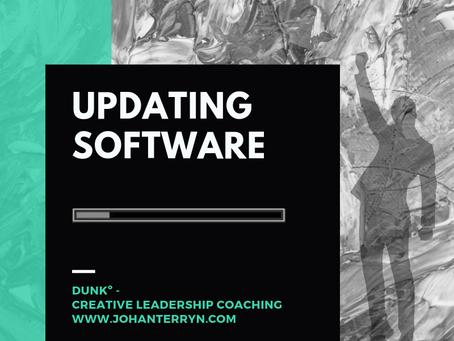 Waarom we zelf ook een software update kunnen gebruiken?