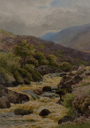 HAROLD SUTTON PALMER | The Rushing Torrent