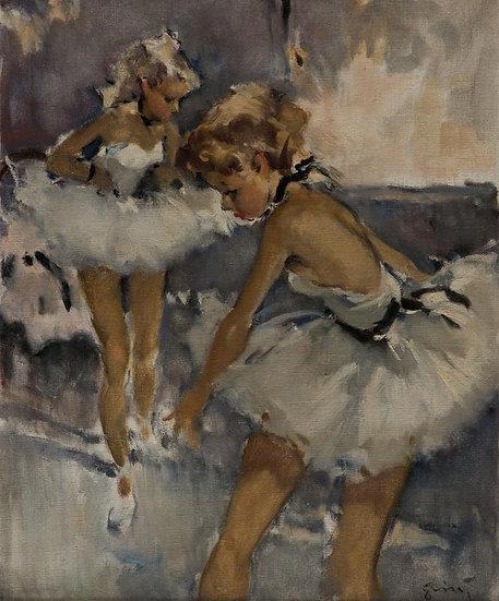 Deux Jeunes Ballerines