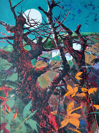 Moon over Thorns by Kenneth Webb