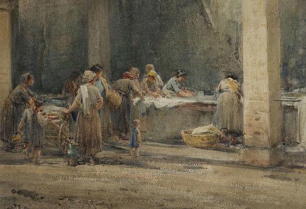 ARTHUR REGINALD SMITH | At the washing, Assisi