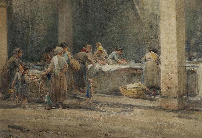 At the washing, Assisi