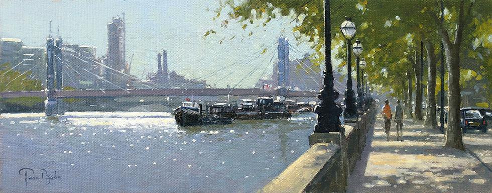 PETER VAN BREDA | Chelsea Embankment, London